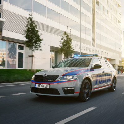 Mosy Intelligent police car