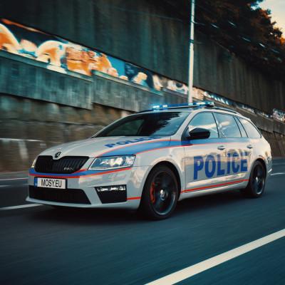 Mosy Intelligent police car 5