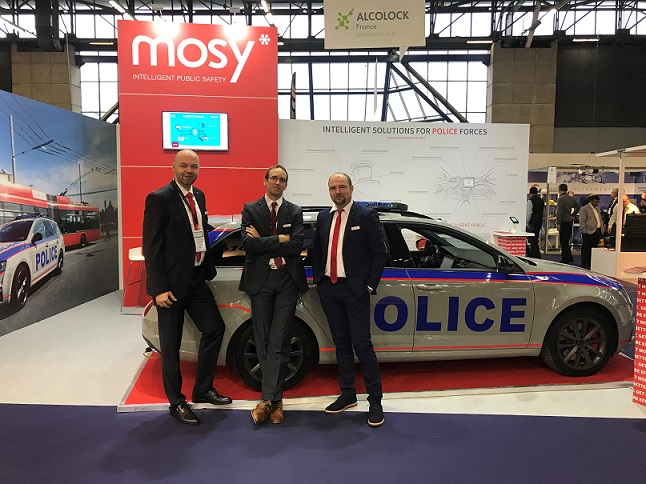 MOSY at the 20th edition of Milipol Paris 2017