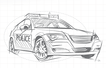 Intelligent police car
